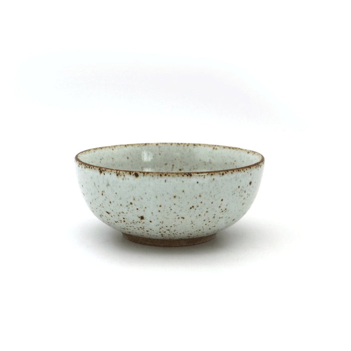 "Local Artisanal Ceramic - White Bowl 6"" - Earth Mart"