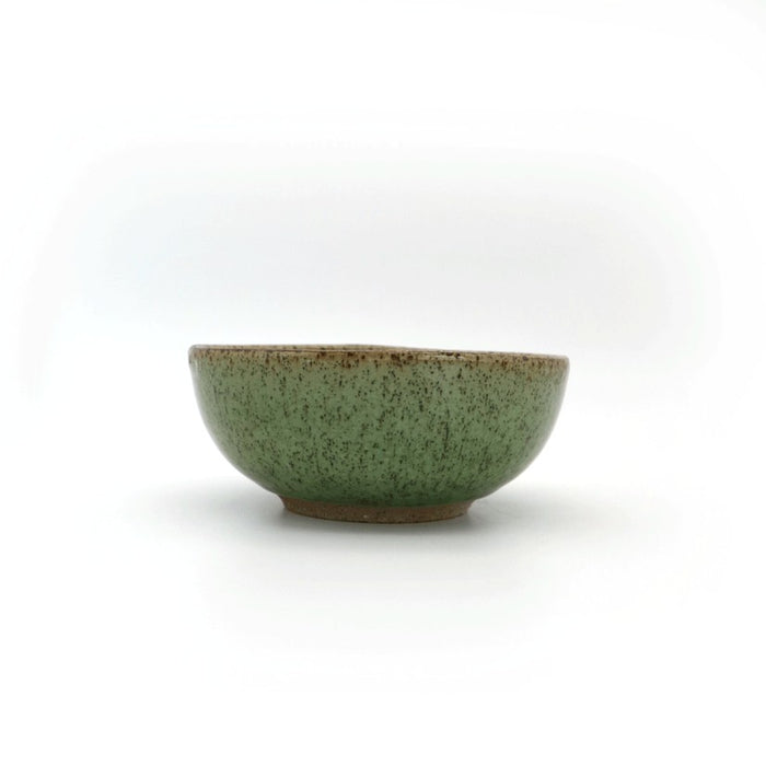 "Local Artisanal Ceramic - Green Bowl 6"" - Earth Mart"