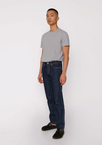 Circular Denim 5 Pocket - Rinsed