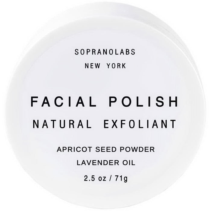 Lavender Vegan Facial Polish + Apricot Seeds Powder - Earth Mart