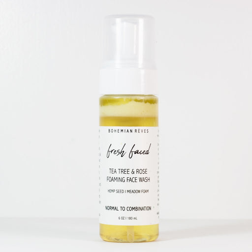 Foaming Face Wash - Fresh Faced - Earth Mart