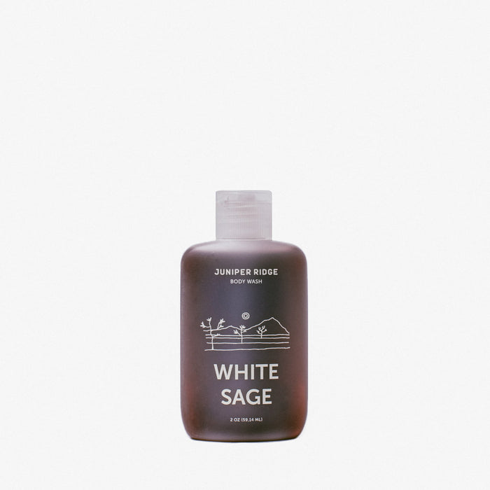 White Sage Body Wash - Travel Size - Earth Mart