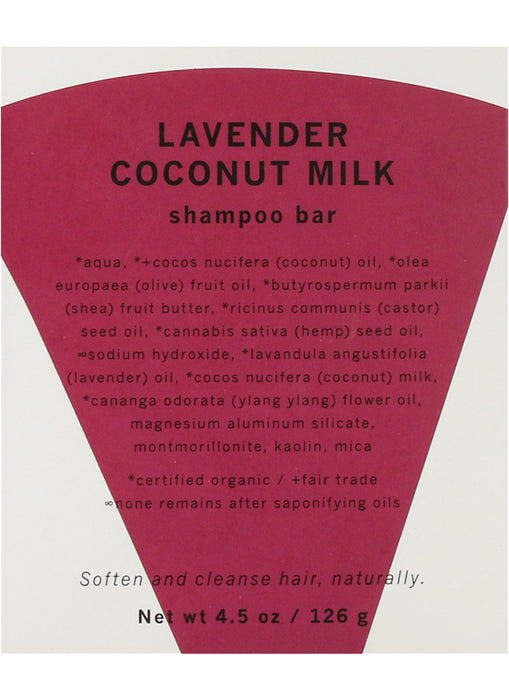 LAVENDER COCONUT MILK shampoo bar (Coming Soon) - Earth Mart