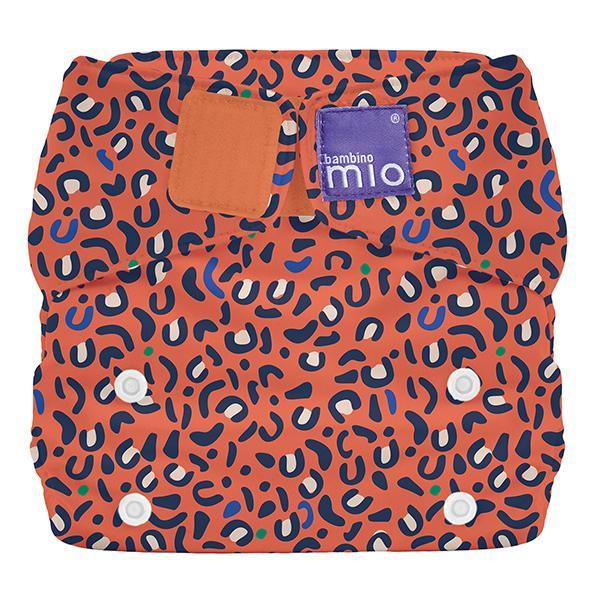 Miosolo All-in-one Reusable Nappy - Safari Spots - Earth Mart