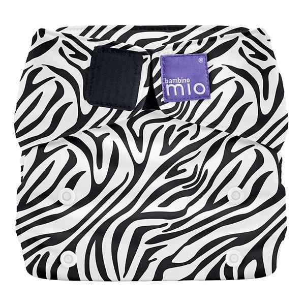 Miosolo All-in-one Reusable Nappy - Savanna Stripes - Earth Mart