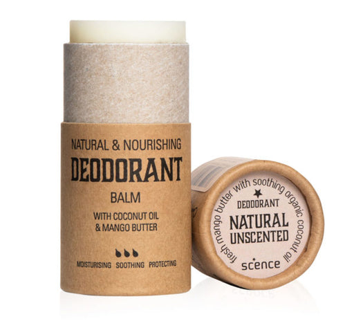 Scence Deodorant Balm – Natural Unscented - Earth Mart