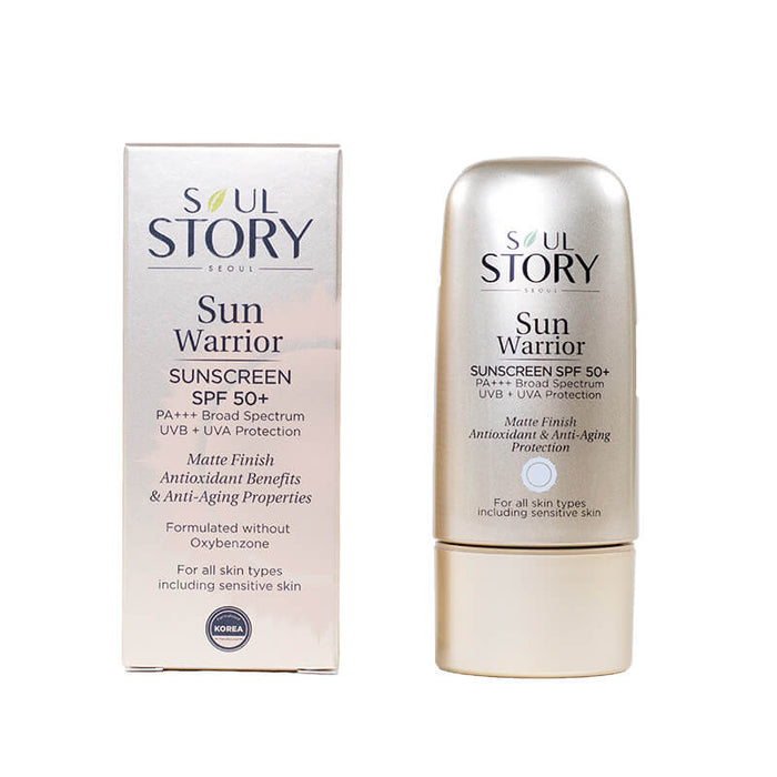 Sun Warrior Sunscreen SPF50+ PA+++ Broad Spectrum - Earth Mart