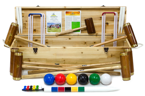 Hurlingham 6 Player Croquet Set