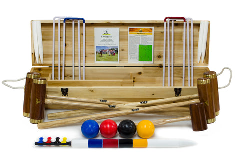 Hurlingham 4 Player Croquet Set
