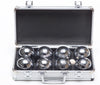 Boules in Metal Case