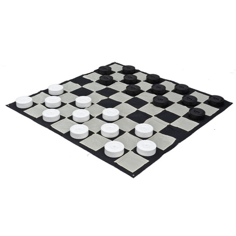 Large Plastic Checkers Pieces