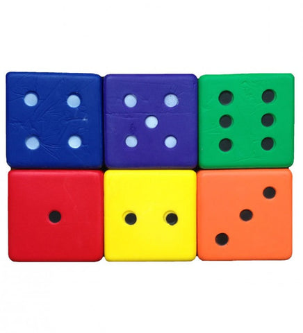 15cm Giant Coated Foam Dice