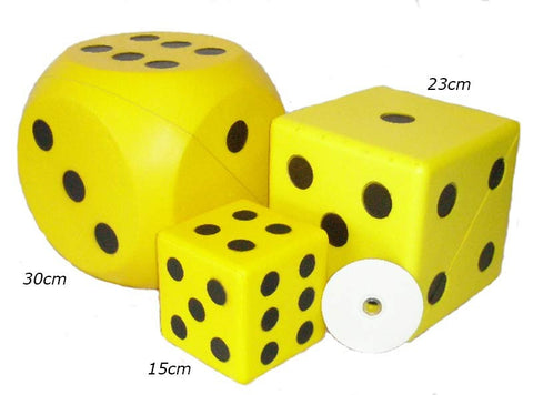 30cm Giant Coated Foam Dice