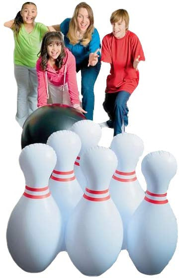 Giant Inflatable Jumbo Bowling Set
