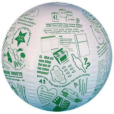 Toss N Talk About Conversation Ball - Go Green