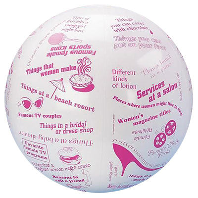 Toss N Talk About Conversation Ball - Women's Stuff