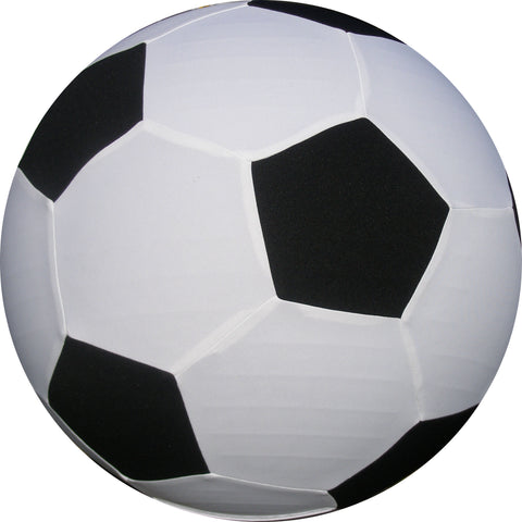 1.0m Black and White Soccer Ball