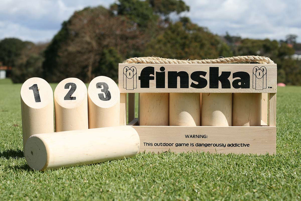 Finska - Outdoor Strategy Throwing Game