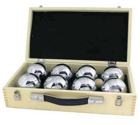 Boules in Wooden Case