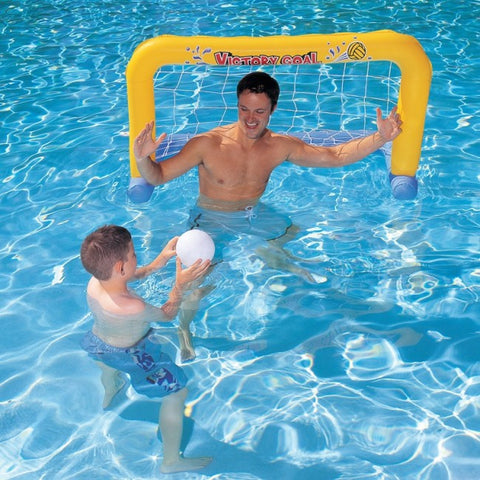 Inflatable Water Polo Pool Set