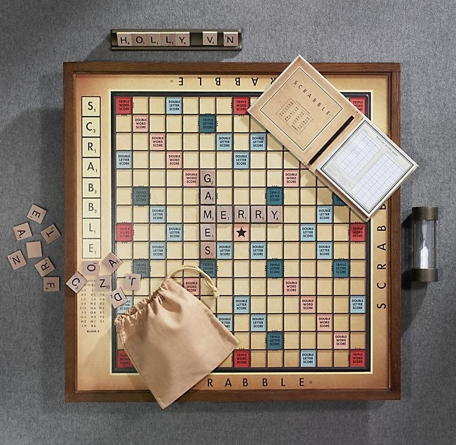 Premier Edition Scrabble Set