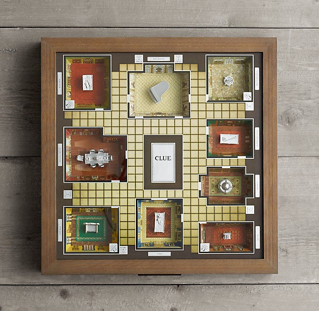 Premier Edition Retro Vintage Clue Set