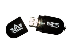 Limited Edition Gravitas Discography USB Drive - 16gb