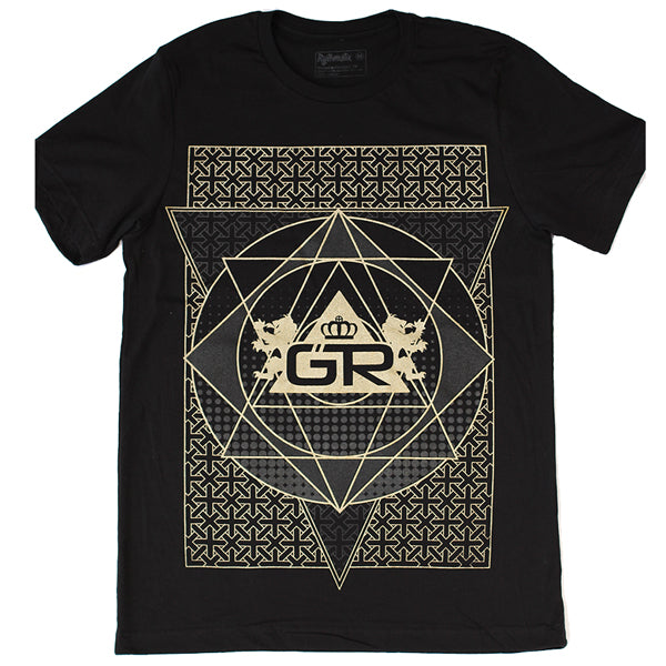 Occult Shirt – Gold Ink