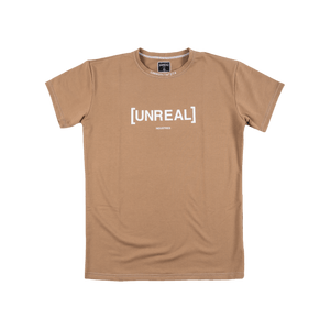 UNREAL - STATUS SYMBOL BROWN TEE - Unrealindustry