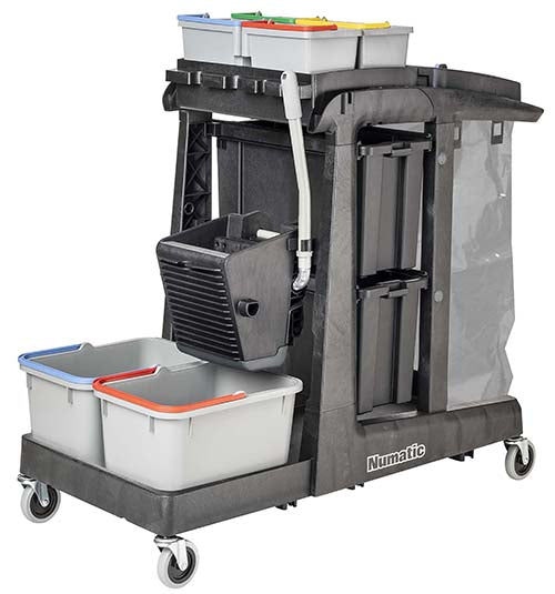EcoMatic EM5 A cleaning trolley