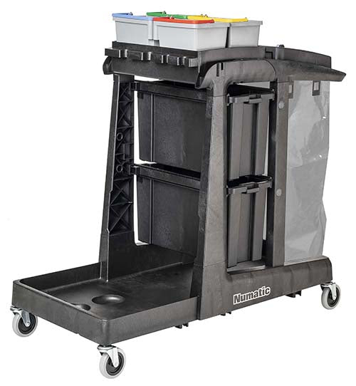EcoMatic EM 5 cleaning trolley