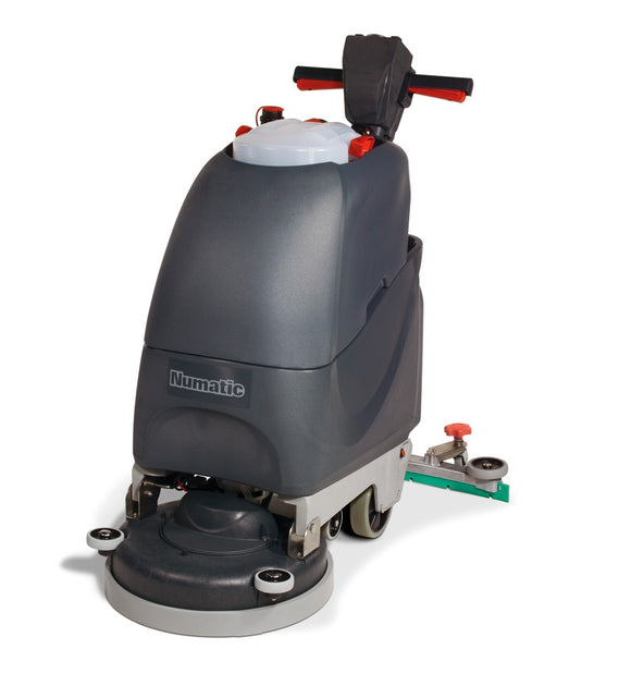Battery scrubber-dryer TGB3045 with PadLoc drive plate