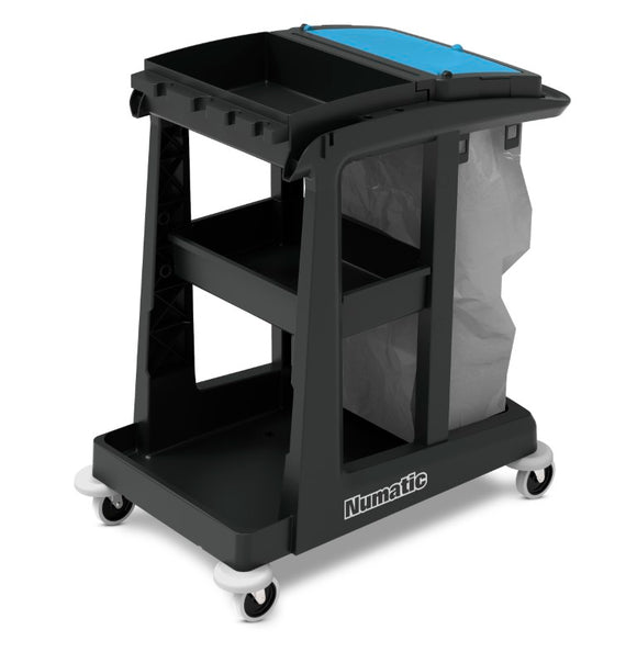 EcoMatic EM-1 cleaning trolley