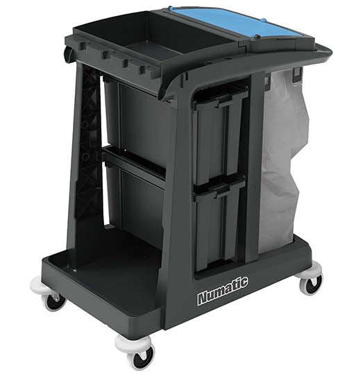 EcoMatic EM-2 cleaning trolley