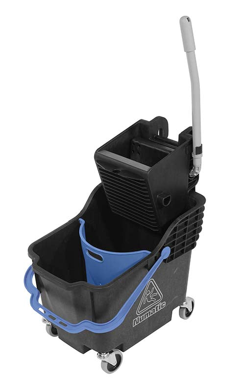 Double mobile bucket ComCar 1 Black