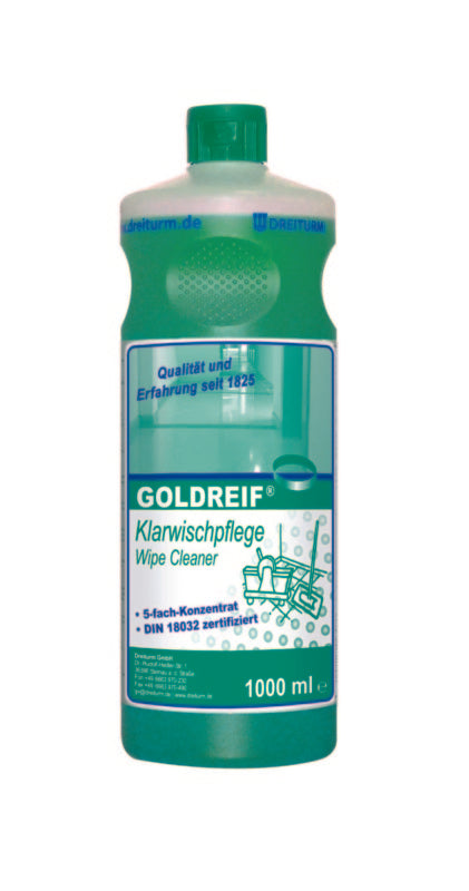 Goldreif® clear wipe care 1L / 10L