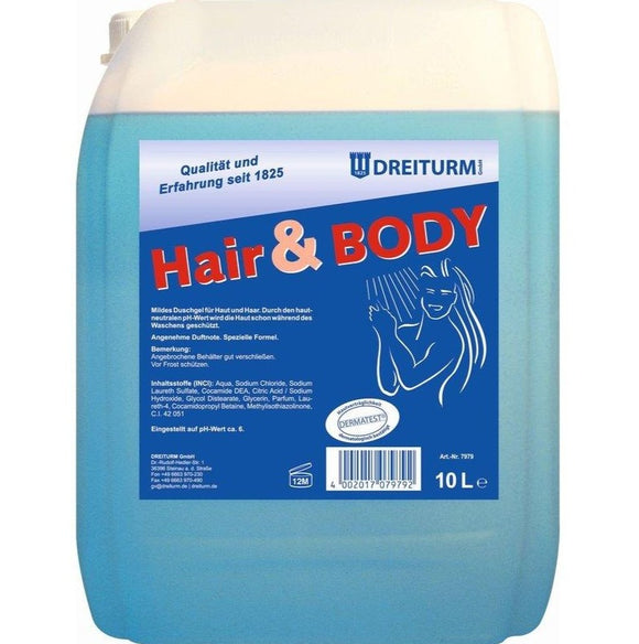 Hair & Body Shampoo 10L
