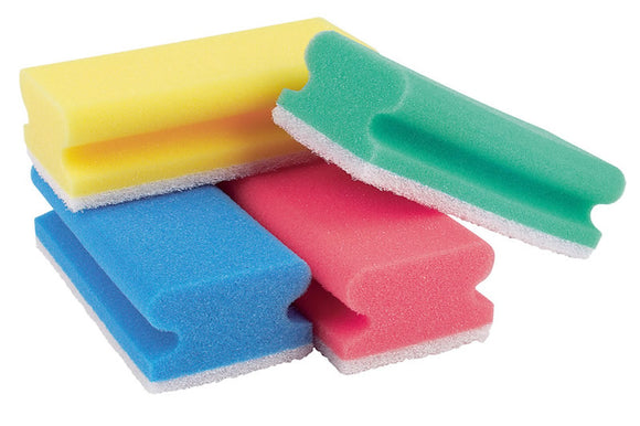 Pad sponges with handle