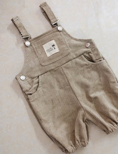 Swell Overalls in Khaki