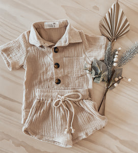 Byron Day Shirt in Natural