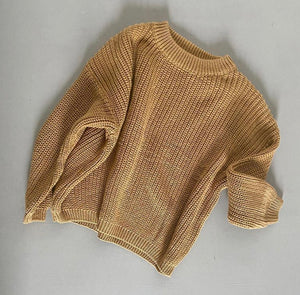 Golden Hour Chunky Knit