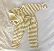 Load image into Gallery viewer, Mustard Stripe Pullover Top