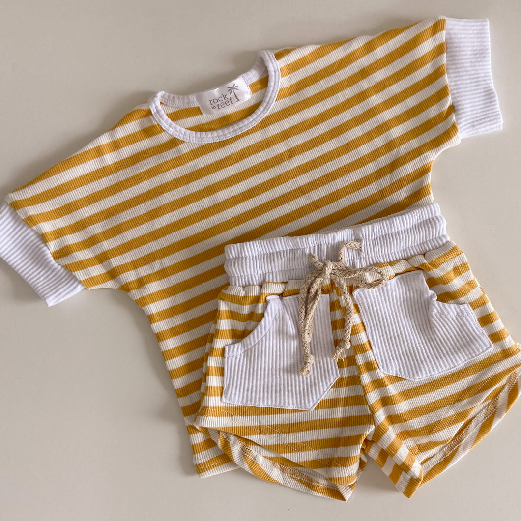 Island Time Set in Sunshine Stripe