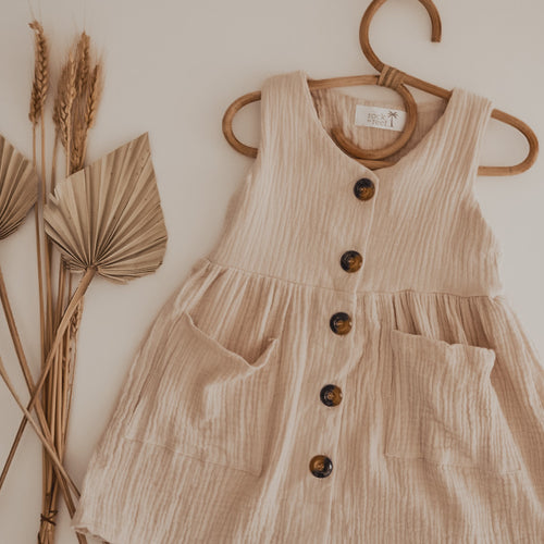 Shore Dress in Natural