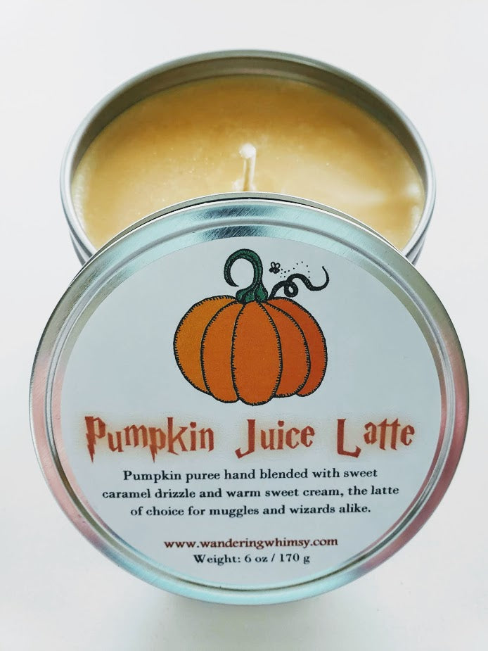 Pumpkin Juice Latte Soy Candle
