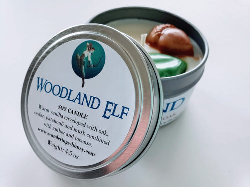 Woodland Elf Soy Candle