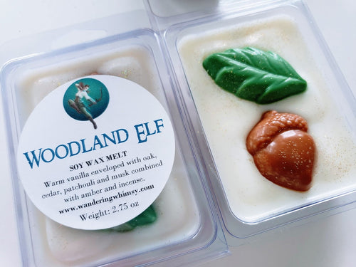 Woodland Elf Wax Melt Clamshell