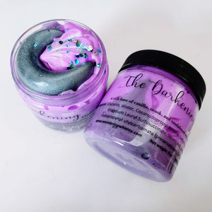 Crystal Whipped Soap: The Darkening