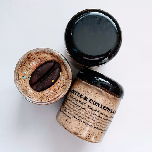 Holiday Coffee and Contemplation Whipped Scrub