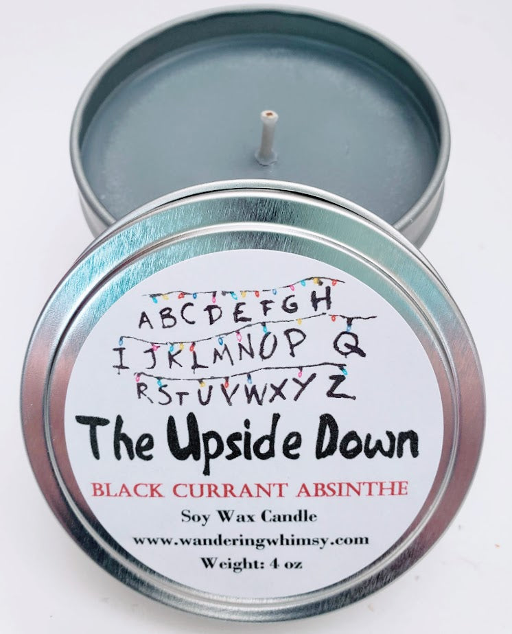 Upside Down Soy Candle